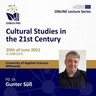 12 Lecture Series - Gunter Süß